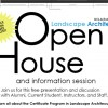 UCLA Extension Landscape Architecture Open House Poster